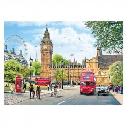 Micro Puzzle : London, House of Paliament - 40 Pièces