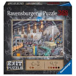 Jeux de société - Exit Puzzle : Dans l'Usine de Jouets - 368 Pièces