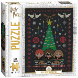 Puzzle Harry Potter - Weasley Sweaters - 550 Pièces