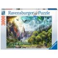 Puzzle Ravensburger : Règne des Dragons - 3000 Pièces