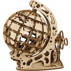 Puzzle Mr Playwood - Globe petit modèle 3D mobile en bois