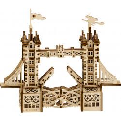 Puzzle Mr Playwood - Le Petit Tower Bridge petit modèle 3D mobile en bois