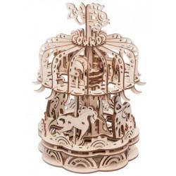 Puzzle Mr Playwood - Carrousel petit modèle 3D mobile en bois