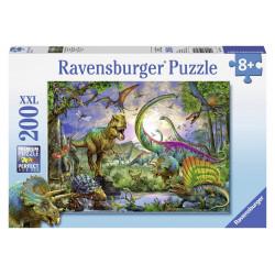 Puzzle Ravensburger Pièces XXL - Royaume des Dinosaures - 200 Pièces