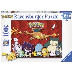 Puzzle Ravensburger Pièces XXL - Mes Pokémons préférés - 100 Pièces