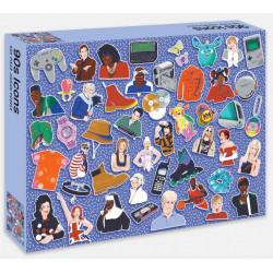 Puzzle Ravensburger - 90s Icons - 500 Pièces