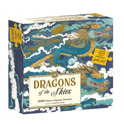 Puzzle Abrams & Chronicle : Dragons of the Skies - 1000 Pièces