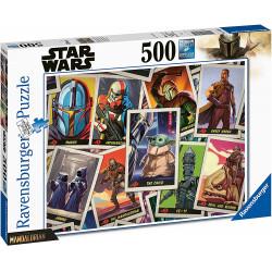 Puzzle Ravensburger - Star Wars - Mandalorian - 500 Pièces