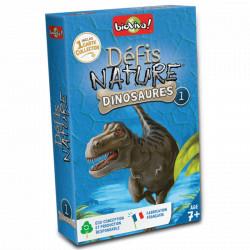 Jeux de société - Défis Nature - Dinosaures 1 Bleu // Collector