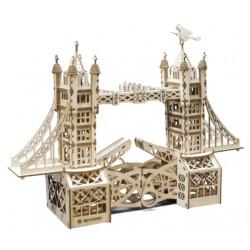 Puzzle Mr Playwood - Tower Bridge modèle 3D mobile en bois