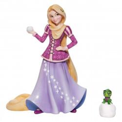 Figurine Disney Showcase - Raiponce à Noël