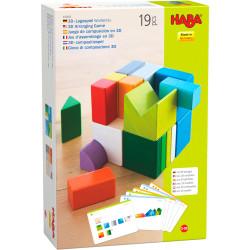 Jeux de société - Jeu d'assemblage en 3D Cubes Mix