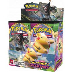 Booster Pokémon Epée et Bouclier - Voltage Eclatant Boite Complète