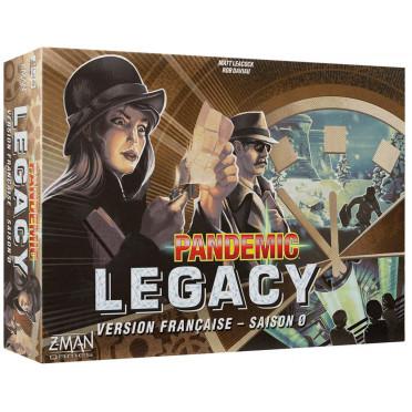 Jeux de société - Pandemic Legacy - Saison 0