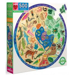 Puzzle Eeboo : Biodiversity - 500 Pièces