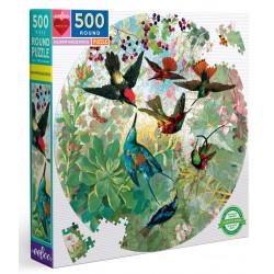 Puzzle Eeboo : Hummingbirds - 500 Pièces
