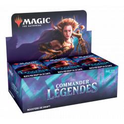 Booster Magic Commander Légendes boite complète