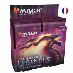 Booster Collector Magic Commander Légendes boite complète