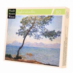 Puzzle Michèle Wilson : Claude Monet - Cap d'Antibes - 80 Pièces