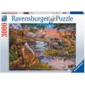 Puzzle Ravensburger : Le Règne Animal - 3000 Pièces