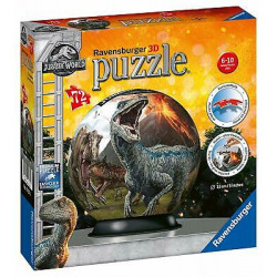 Puzzle Ravensburger 3D Ball - Jurassic World 2 - 72 Pièces