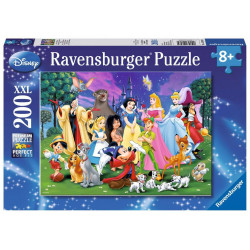 Puzzle Ravensburger Pièces XXL - Les grands personnages Disney - 200 Pièces