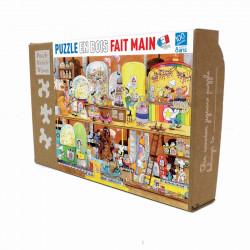 Puzzle Michèle Wilson : Klimt - Usine des bonbons - 100 Pièces