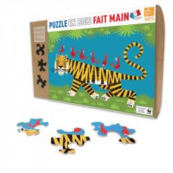 Puzzle Michèle Wilson : Le tigre - 24 Pièces