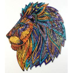 Puzzle Créatif Harmandi : Le légendaire Lion Bte bois - 141 Pièces
