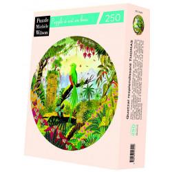 Puzzle Michèle Wilson : Thomas - Quetzal resplendissant - 250 Pièces
