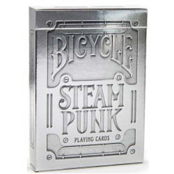 Bicycle - 54 cartes Steampunk Silver