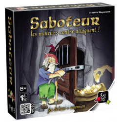 Jeux de société - Occasion - Saboteur II - Les mineurs contre-attaquent !