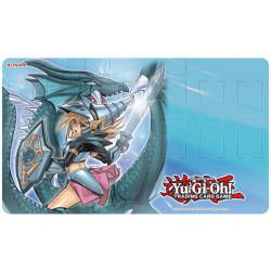 Tapis de jeu Konami illustré Yu-Gi-Oh! - Magicienne des Ténèbres le Dragon Chevalier