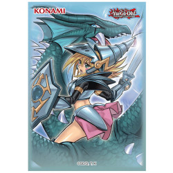 Protège-cartes Konami Yu-Gi-Oh! - Magicienne des Ténèbres le Dragon Chevalier - 02/21