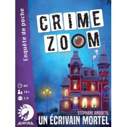 Jeux de société - Crime Zoom - Un Ecrivain Mortel