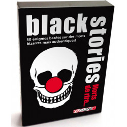 Jeux de société - Black Stories : Morts de Rire