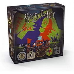 Puzzle Noble Collection : Harry Potter - Les enseignes du Chemin de Traverse - 5 x 200 Pièces