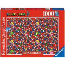 Puzzle Ravensburger Challenge : Super Mario Bros - 1000 Pièces
