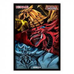 Précommande : Protège-cartes Konami Yu-Gi-Oh! - Egyptian God - Dieux Egyptien - 06/21
