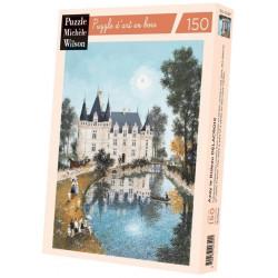 Puzzle Michèle Wilson : Delacroix - Azay le rideau - 150 Pièces