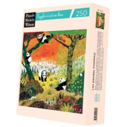 Puzzle Michèle Wilson : Thomas - Les Pandas - 250 Pièces