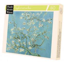 Puzzle Michèle Wilson : Van Gogh - Branches d'Amandier - 80 Pièces