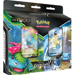 Pokémon Deck Combat‑V – Florizarre vs Tortank
