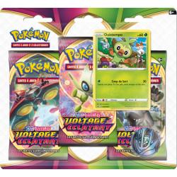 Booster Tri-Pack Pokémon Epée et Bouclier - Voltage Eclatant - Ouistempo