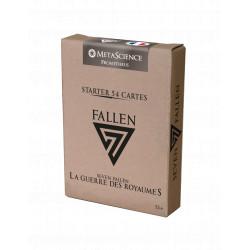 Starter 54 cartes 7 Fallen - Royaume MetaScience : Prometheus