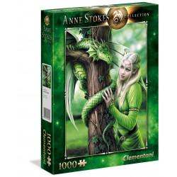 Puzzle Clementoni : Anne Stokes - Esprits Connectés - 1000 Pièces
