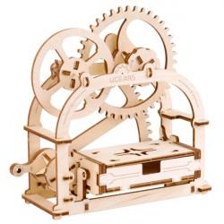 Puzzle Ugears - Boite 3D Mécanique en bois