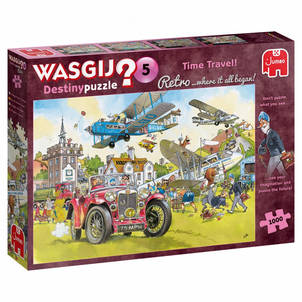 Puzzle Wasgij 1000 pièces Retro Destiny 5 Voyage dans le temps !