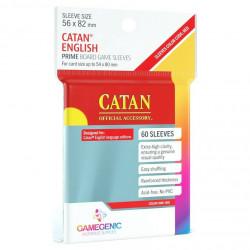 Gamegenic Prime Sleeves 50 pochettes Large 56 x 82 mm - Catan