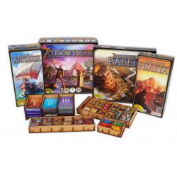 Jeux de société - Insert 7 Wonders + All Expansions